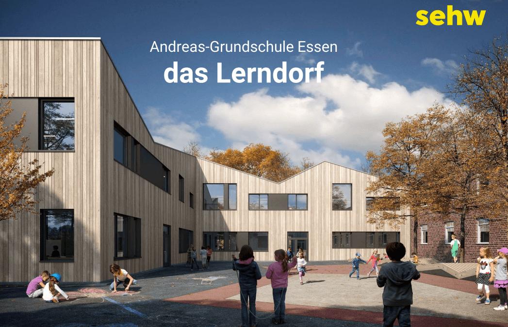 So wird unsere Schule nach dem Umbau im Sommer 2023 aussehen